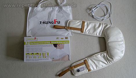 T-KungFu Klopfmassage Lieferumfang